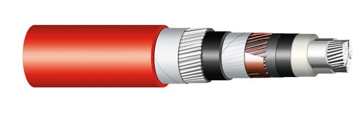 Image of 6-AHKCYDY three cores cable