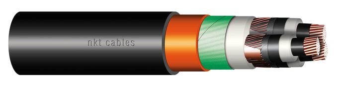 Image of XLPE Al three core 19/33 kV medium voltage cable